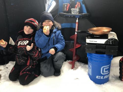 Ice hot dog